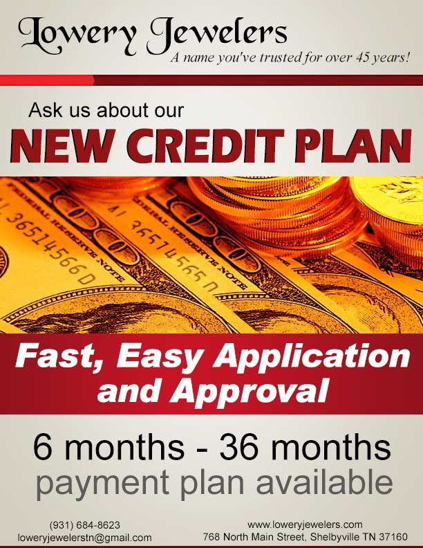 New Credit Plan